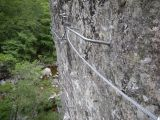 Via-ferrata du Tapoul: Le peitit devers