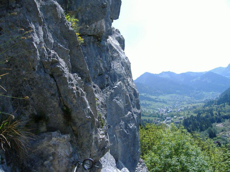 La via ferrata des Saix de Miolène: lachapelledabondance006.jpg