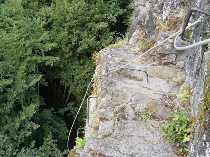 La via ferrata du Lac des Graves: lascelle010.jpg