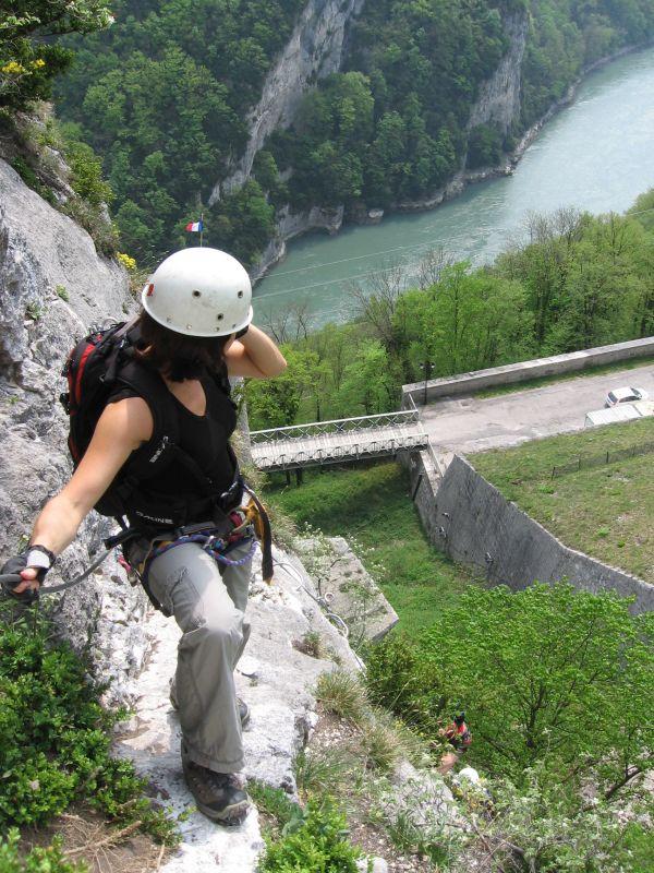 La via ferrata du Fort l'Ecluse: leaz033.jpg