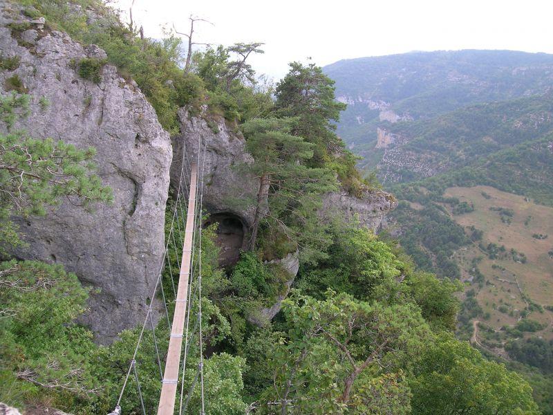 La via ferrata du Boffi: millau011.jpg