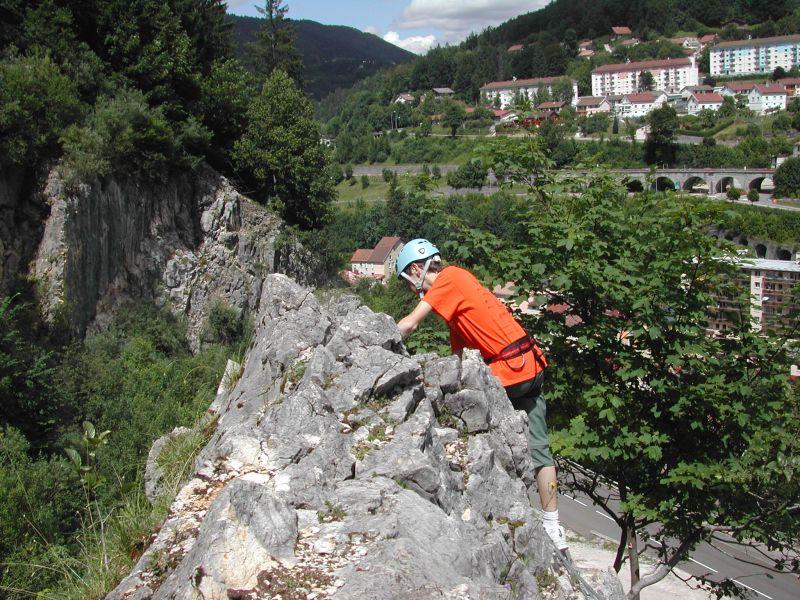 La via ferrata de la Roche au Dade: morez025.jpg