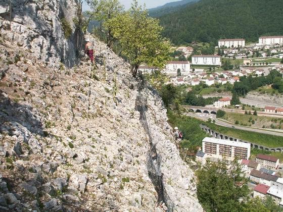 La via ferrata de la Roche au Dade: morez10.jpg