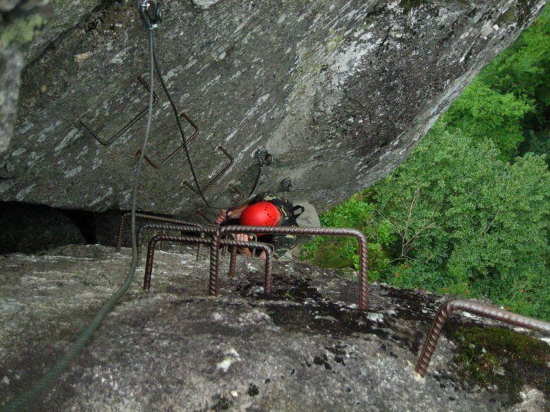 La via ferrata du bois des Baltuergues: stegenevievesurargence012.jpg